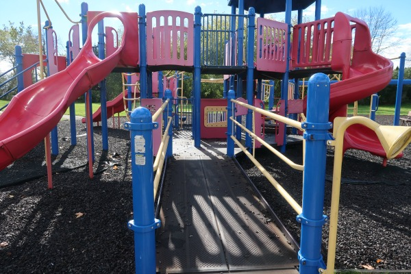 Centennial Park is an inclusive playground in Grafton Wisconsin