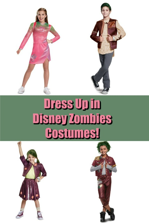 566ac623ea3 Dress Up in Disney Zombies Costumes!