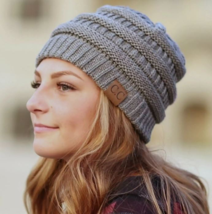 CC Beanie for fall and winter