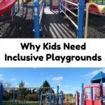 AD: Inclusive playgrounds have great benefits for kids such as developing physical, cognitive, sensory, and social skills. They provide a place for children of all abilities to come together and play. #ShapedByPlay #PlayLSI