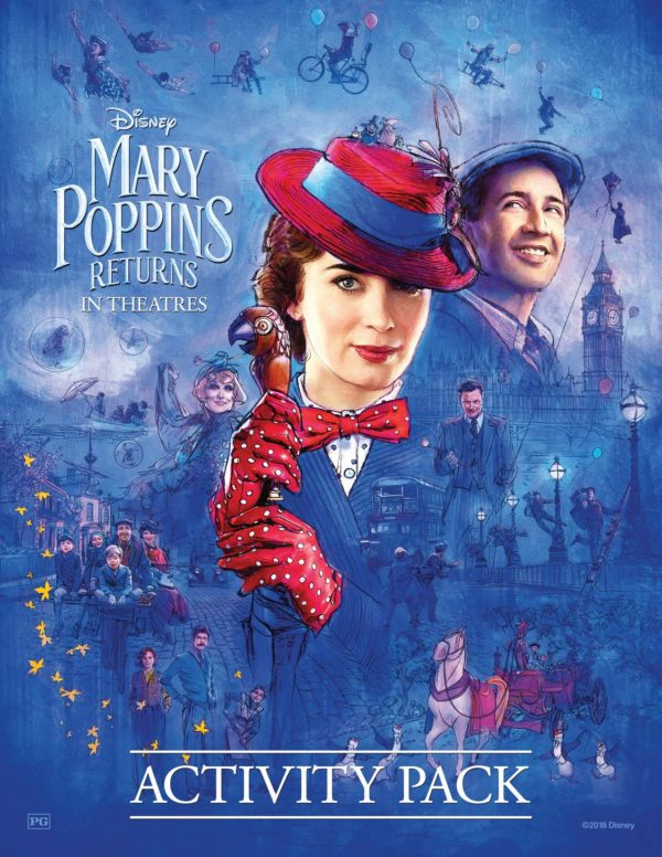 Mary Poppins Returns Printables