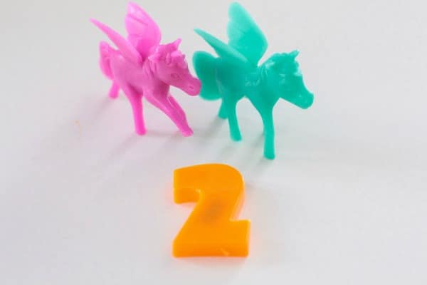 How to play the unicorn counting game to help your children work on math skills.