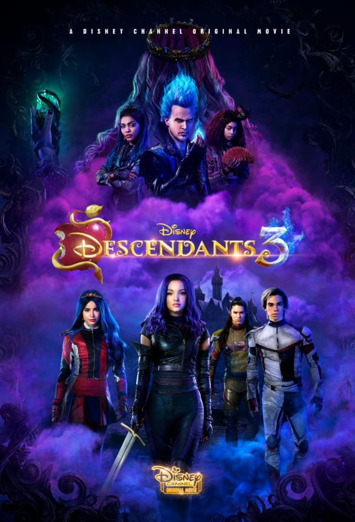 Movie poster for Disney Channel Descendants 3
