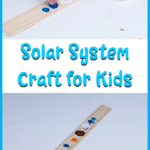 Help kids learn the order of the planets with this fun and easy fingerprint solar system craft for kids.