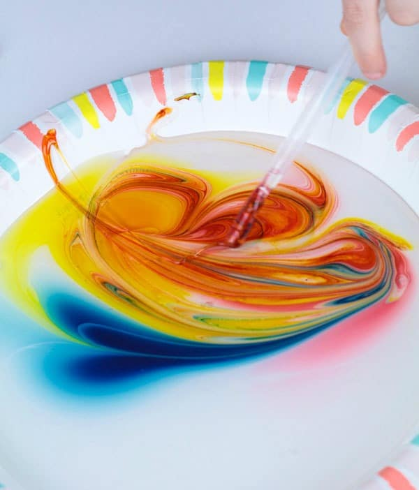 Viscosity art and science activity tutorial