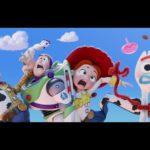 Toy Story 4 Woody, Buzz Lightyear, Jessie, Forky