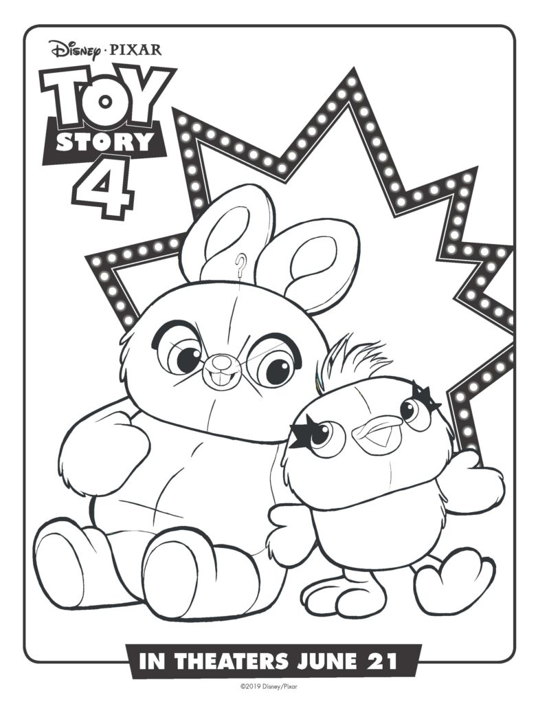 Free Printable Toy Story 4 Coloring