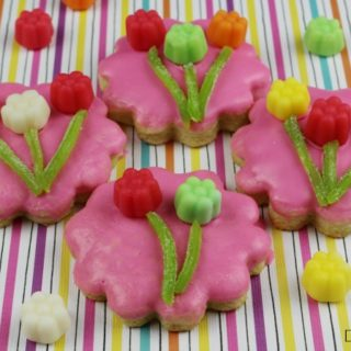 Juju Flower Easy Sugar Cookie Recipe