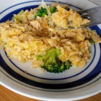 Easy Cheesy Tuna and Rice One Skillet Recipe