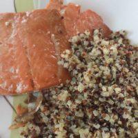Maple Glazed Salmon Filets Recipe {Soy Free, Gluten Free}