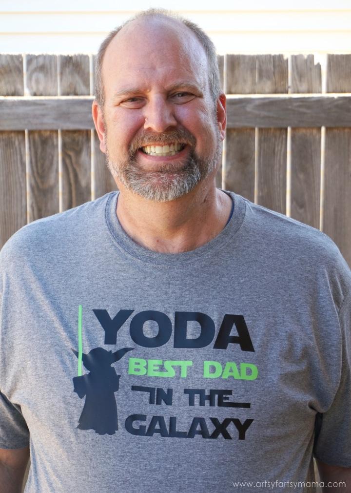 Yoda Father's Day Shirt