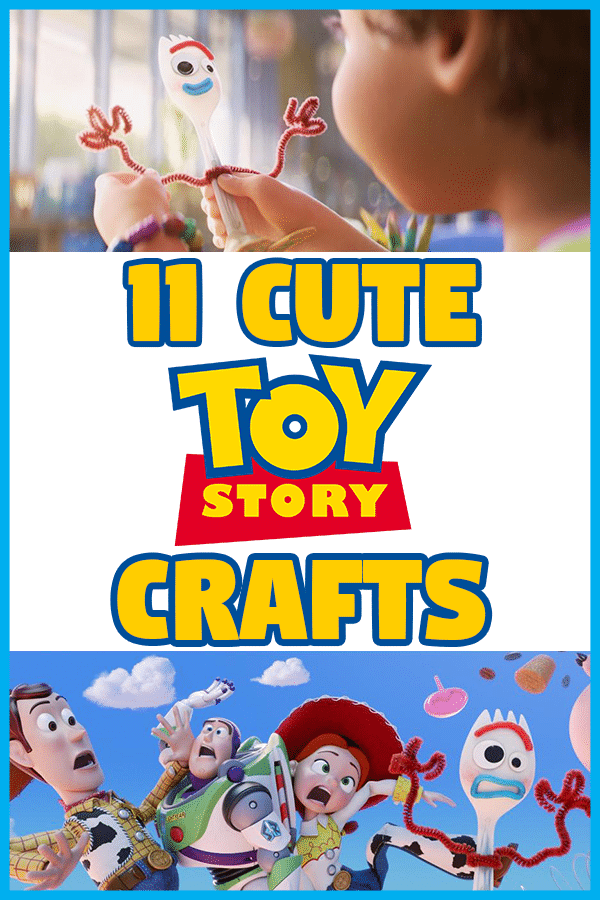 List of kids crafts inspired by the Toy Story movies