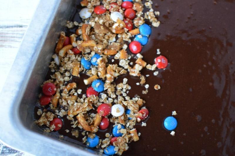 How to make easy patriotic brownies