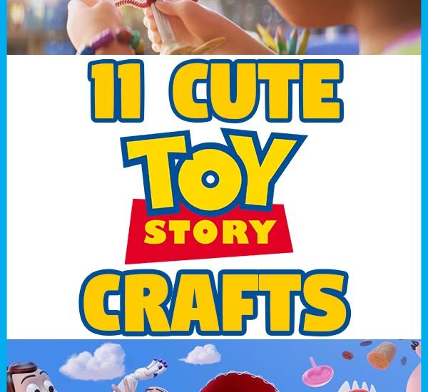 Toy Story 4 movie stills of Bonnie making Forky plus other characters