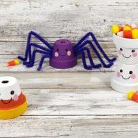 Halloween Kawaii Style Flower Pots Craft