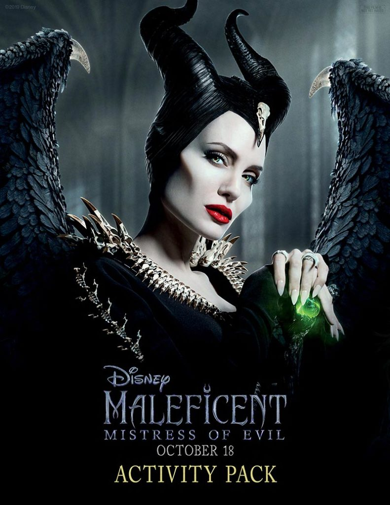 Cover image for Disney's Maleficent Activity Packet