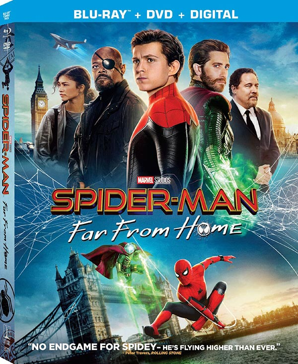 Spider Man Far From Home DVD cover