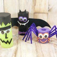 Pool Noodle Halloween Crafts