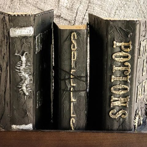 DIY Wizard Spell Book Craft Project