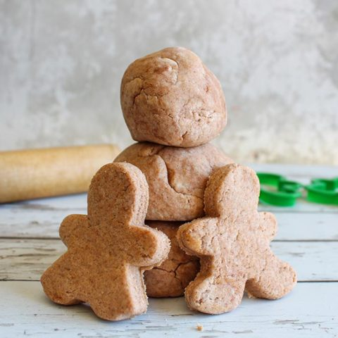 Gingerbread Scented Playdough