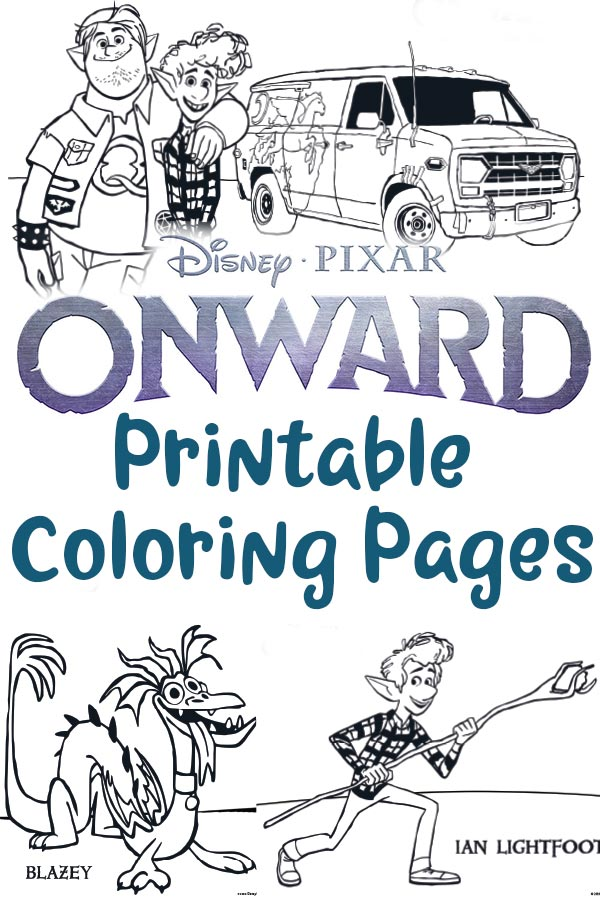 - Free Printable Onward Coloring Pages And Activities