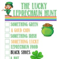 Free Printable Lucky Leprechaun Hunt