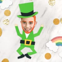 Silly Photo Leprechaun Craft