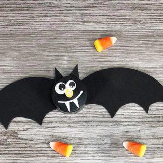 Bat Tea Light Craft