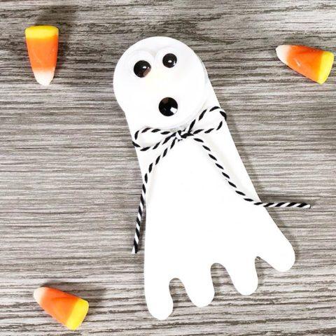 Ghost Tea Light Craft