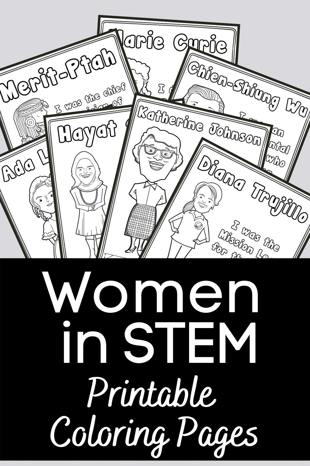 Women In Stem Printables To Inspire During Women S History Month